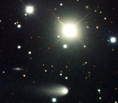 Comet ISON from Gemini Observatory