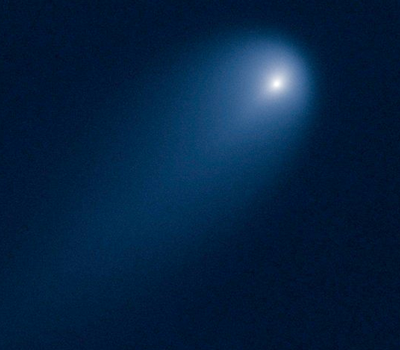 Comet ISON from Hubble Telescope