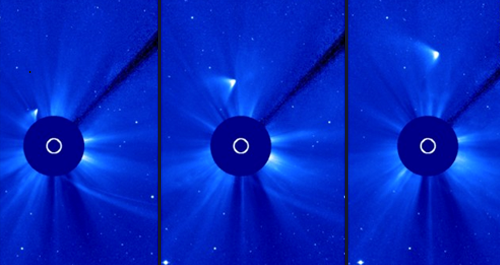 First Image of Comet ISON