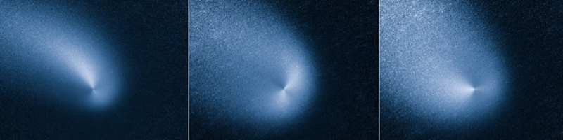 Comet Siding Spring seen from Hubble (January - March 2014)