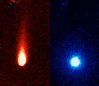 Comet ISON from Spitzer Space Telescope
